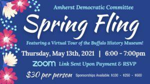 Amherst Dems Spring Fling @ ZOOM