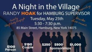 Join us for A Night in the Village with Randy Hoak!