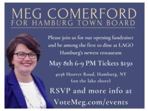 Opening Fundraiser for Meg Comerford for Hamburg Town Board! @ Lago 210
