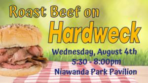 Roast Beef on Hardweck @ Niawanda Pavilion-Niawanda Park
