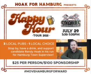 Hoak for Hamburg Presents: Happy Hour Tour 2021! @ Sneakers bar