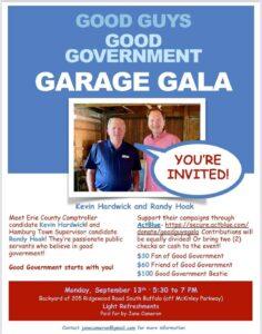 Garage Gala in Support of Kevin Hardwick & Randy Hoak