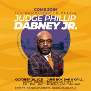Join the Committee to Retain Judge Dabney @ Juke Box Bar & Grill