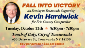 Fall into Victory with Kevin Hardwick @ Touch of Italy