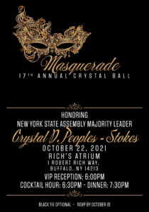 17th Annual Crystal Ball Honoring Majority Leader Crystal Peoples-Stokes @ Rich's Atrium